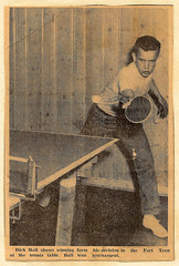 Dick Hall - Table Tennis Master.