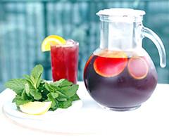 Pomegranate San-Tea-A (Evening Edge.com) Tags: atlanta usa ga tea drink pomegranate recipes sangria ajc eveningedge