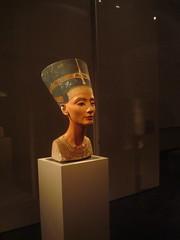 Berlim, Altes Museum, Busto da Nefertiti