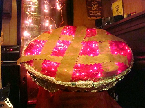 Glowing Pie at Pie Celebration