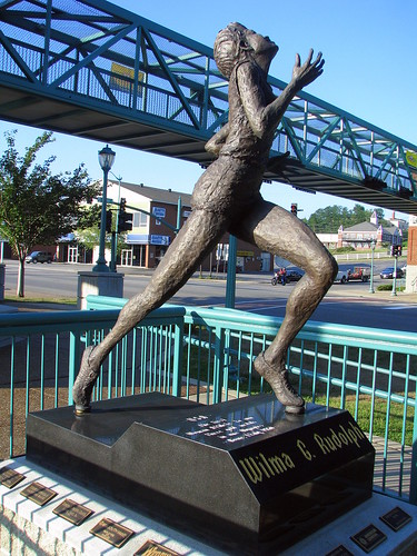 Wilma Rudolph Statue