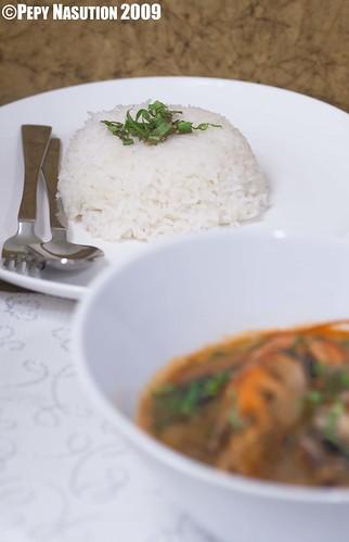 Steamed Jasmine Whte Rice