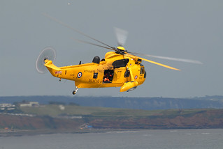 Sea King at Dawlish