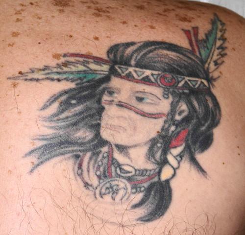 indian tattoo american indian tattoo