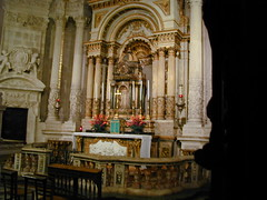Main Altar of Cathedral of Siracusa