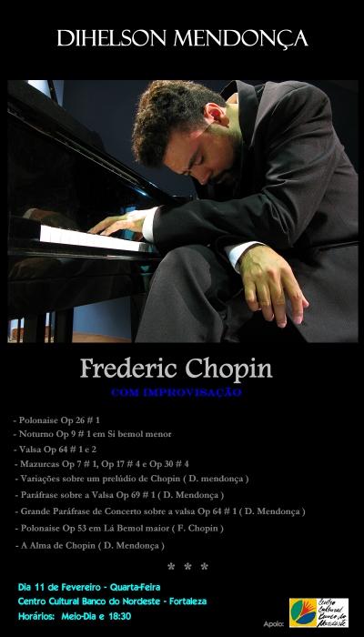 Chopin com Improvisação - Dihelson Mendonça - CCBNB