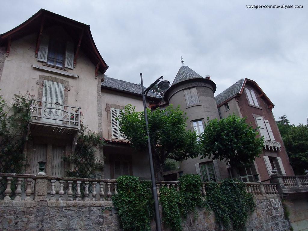 Maison de la bourgeoisie, qui venait se reposer à Saint-Nectaire