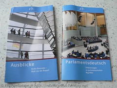 Broschüren Reichstag
