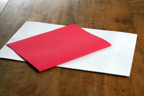 Woven Paper Valentine Hearts - 2
