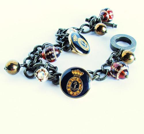 Victoria's Travels Charm Bracelet