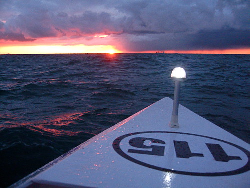 Dawn on the English Channel