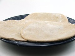 Aloo Paratha - Rolled out