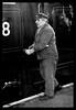 Train maintenance (Grumpy Old Tina 1960) Tags: man train surrey steam overalls worker shalford