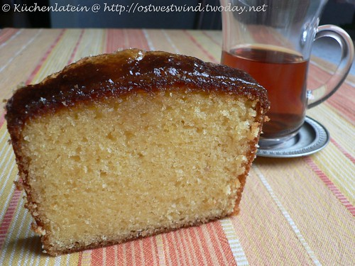 ©French Yogurt Cake with Marmalade Glaze 001