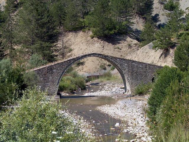 Δυτική Μακεδονία - Καστοριά - Κοινότητα Αρρένων Το γεφύρι του Κουσιουπλή.