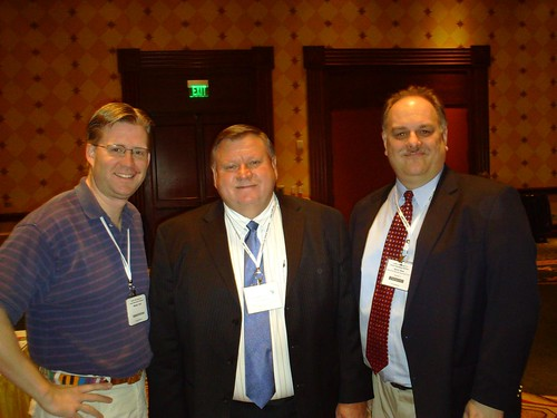 Wesley Fryer, Jerry Vaughn, and David Jakes at CoSN09