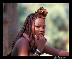 6-Da a da. (Ambrispuri) Tags: africa portrait woman face mujer retrato cara tribal ornaments tradition ethnic namibia rostro himba tradicion adornos tradiction ambrispuri