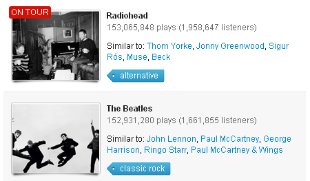 Radiohead, mejores que The Beatles
