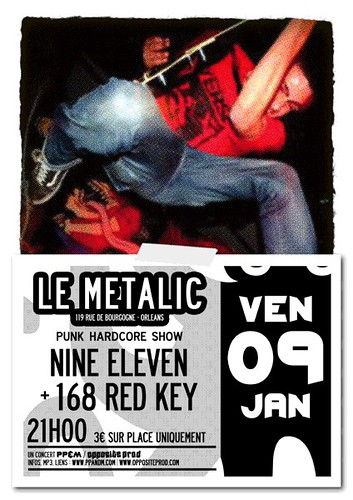Nine Eleven + 168 Red Key