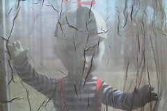 Who is that behind the curtain? (partymonstrrrr) Tags: dead toy toys living doll dolls livingdeaddoll ldd
