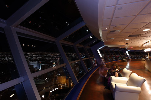 Stratosphere Hotel Tower Night photo