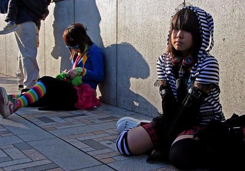 no estamos posando en Harajuku