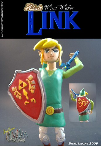 Wind Waker-styled Adult Link Custom Figure
