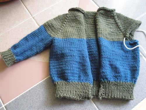 Sweater for Liz's grandson