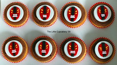 Fourarms Cupcakes (Ben 10) (TheLittleCupcakery) Tags: birthday cake little ben 10 alien aliens tlc cupcakery fourarms heatblast klairescupcakes