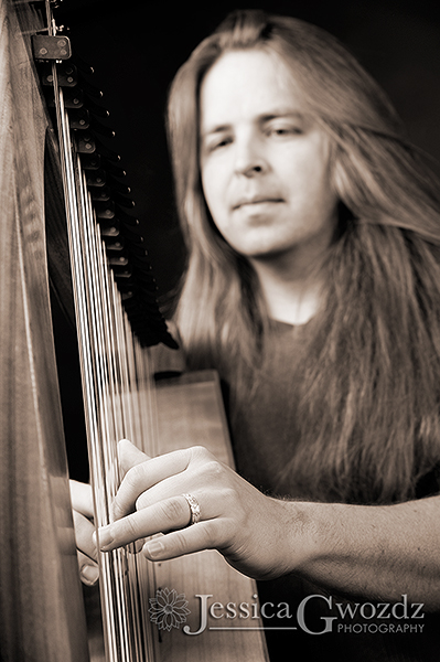 Portrait with Harp