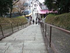 道成寺仁王門から見た門前
