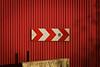 Nation to Mars (janbat) Tags: red paris france metal 35mm rouge nikon nation f2 signalisation poteau d200 nikkor circulation panneau travaux tôle jbaudebert