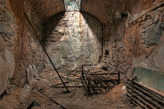 Urban Ruins (Big City Dick) Tags: philadelphia architecture ruins fuji pennsylvania prison jail hdr easternstatepenitentiary 3xp photmatix s5pro