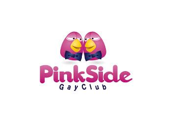 Pinksidegayclub Logo Design by litmusonline.com by litmusonline.com.