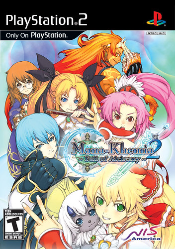 Mana Khemia 2 - Premium Cover