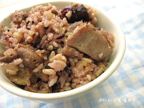 紫金堂麻油雞米飯