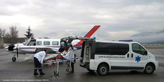 AirMed Air Ambulance in Chambery with ambulance (AirMed/Air Medical Limited) Tags: cloud mountain ski france mountains home tarmac airport aircraft aviation air low twin aeroplane ambulance resort apron medical piston busy oxford planes piper navajo chambery med limited ltd base avion repatriation chieftain medevac pa31 airmed gpzaz airmedcouk