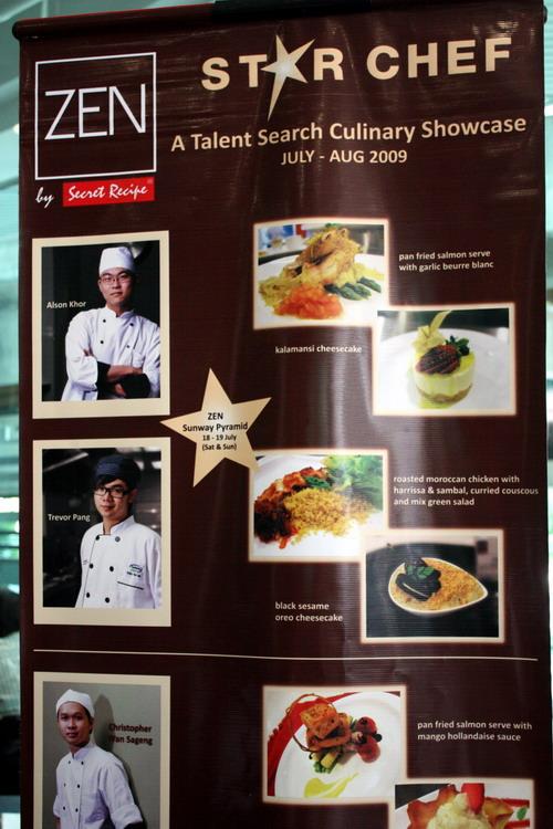 Zen Star Chef