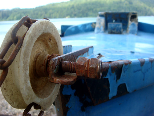 boat detail in the fusch haven ...