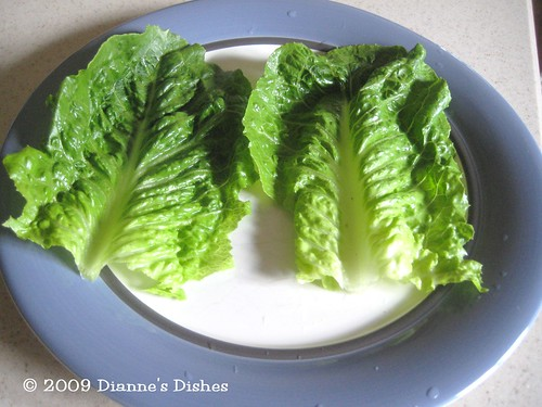 Asian Lettuce Wraps: Lettuce
