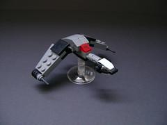birdofprey (- 2x4 -) Tags: bird trek star lego pi shuttle klingon prey enterprise warbird excelsior romulan tng oberth vorcha microspacetopia