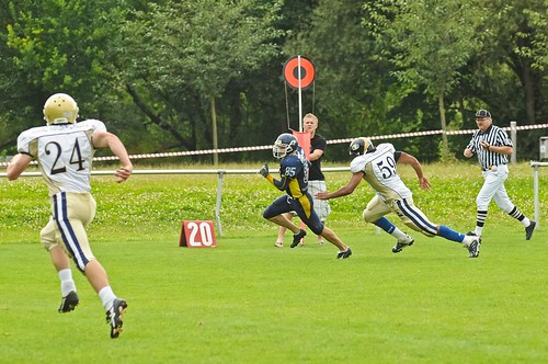 Injoy Hanfrieds vs. Golden Eagles Mainz