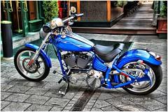 Harley Davidson HDR (Santos M. R.) Tags: dynamic budapest harley santos moto davidson hdr buda pest d80 santosmr