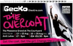 The Overcoat, Edinburgh Festival Fringe 2009, promo image
