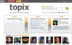 Topix Home Page