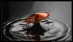 Depth Splash (Drippy2009) Tags: water waterdrop drop explore splash frontpage highspeed waterdroplet vivitar285 strobist waterimpact canonxsi