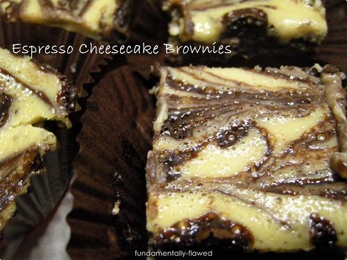 Espresso Cheescake Brownies TWD 005