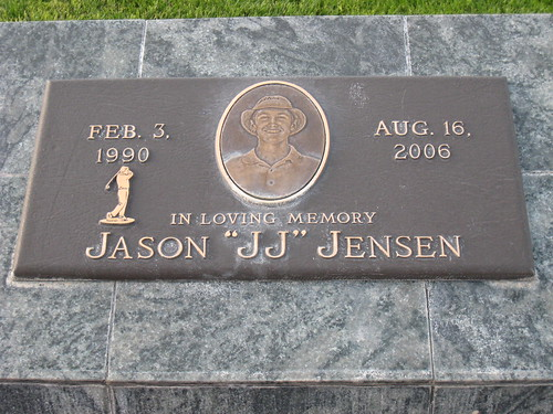 Jason�s Memorial on the First Tee Box at Viewpoint