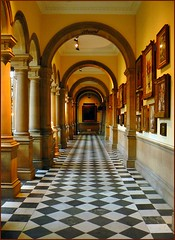 Museums of Scotland - Kelvingrove Art Gallery in Glasgow (jackfre2 (on a trip-voyage-reis-reise)) Tags: scotland gallery glasgow paintings columns perspective walls visitors salvadordali visual bays soe kelvingrove oldmasters corridors kelvingrovemuseum christofstjohnofthecross anawesomeshot frenchpainters alisonwatt dutchpainters theperfectphotographer goldstaraward homersiliad artofimages bestcapturesaoi maratandthefishes
