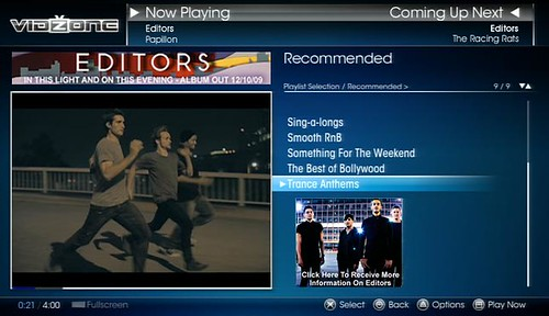 VidZone Editors Exclusive